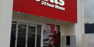 Jetts Gym Caloundra 3D Signage