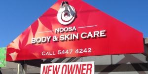 Noosa Body and Skin Care 3D Signage