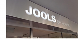 Jools Storefront 3D Signage