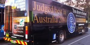 Brisbane Bus Wrap
