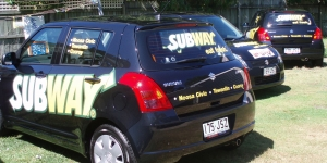Noosa-Tewantin-Cooroy-car-signage-subway-cars