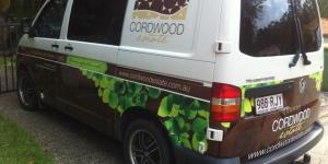 Cordwood Estate Van Wrap