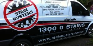 Stain Busters Van Wrap