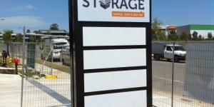 Depot Storage Lightbox Signage