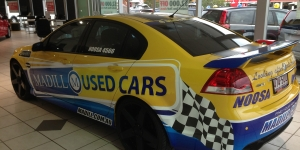 Madills User Cars Vehicle Wrap