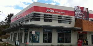 Jetts Gyms Full Shopfront Signage