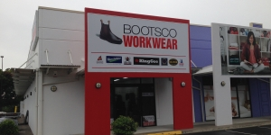 Boots Co Shopfront Signage
