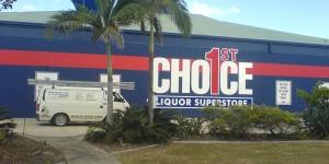 Maroochydore 1st Choice Shopfront Signage
