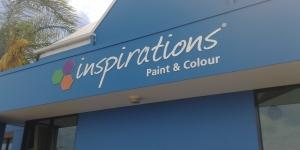 Dulux Inspirations Shopfront Signage