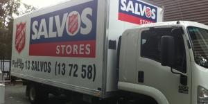 Brisbane-Truck-signs-Salvation-Army