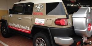 Madills Toyota Car Signage