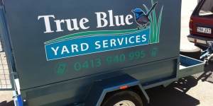 Noosaville True Blue Trailer Signage