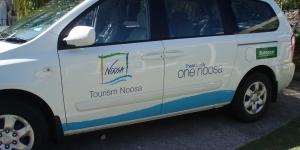 Tourism Noosa Car Signage