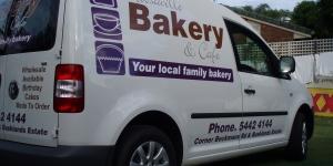 Noosaville Bakery Van Signage