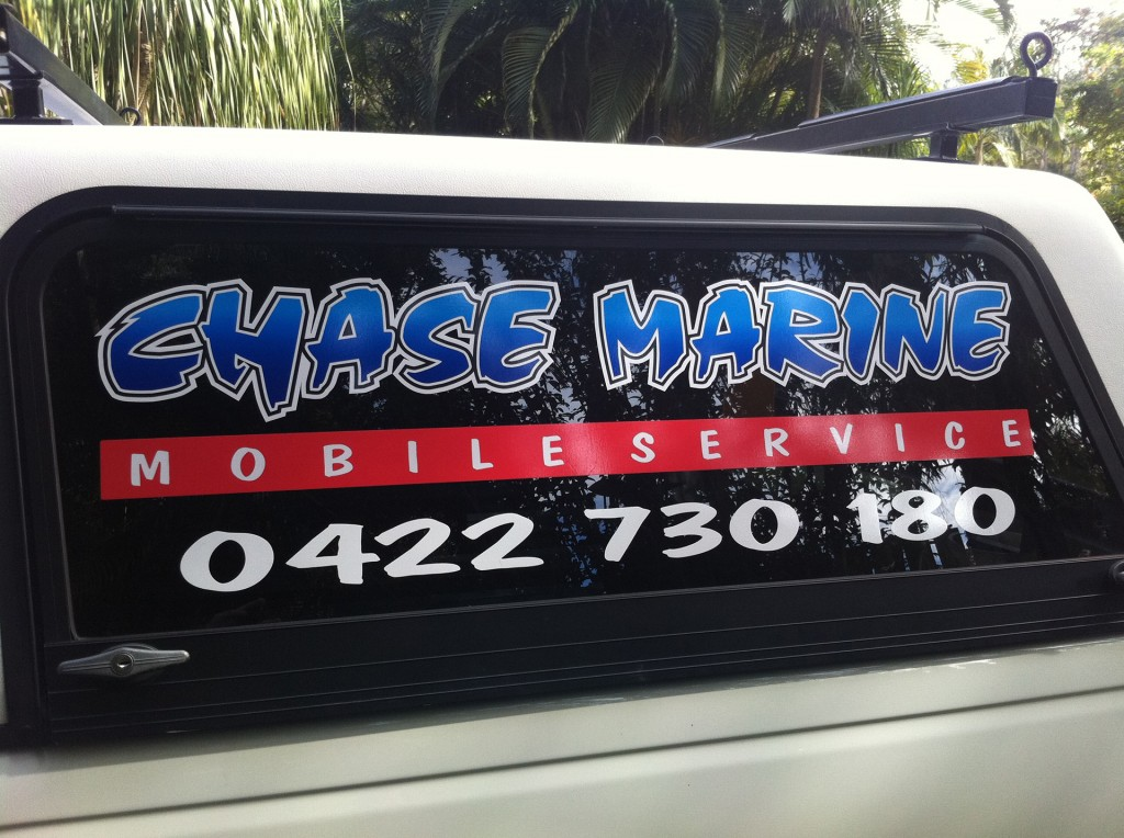 kawana signs car window graphics